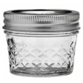 Quilted Ball Mason Jars Single