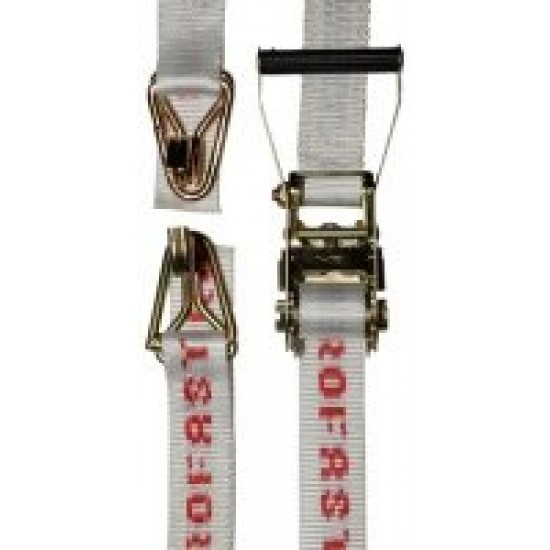 50mm x 6m Very Heavy Duty Ratchet Tiedown Aerofast 5,000kg