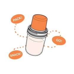 Snack Pack Jar Insert Regular Mouth - Jar not included