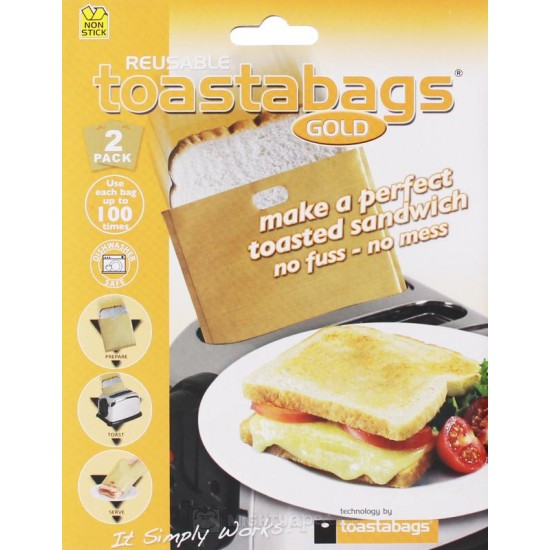 Toastabags Gold Reusable up to 100 times