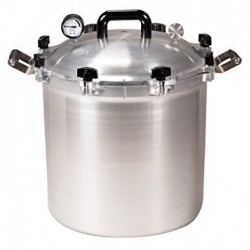 All American 25 Quart (23.5 litre) Pressure Canner All American