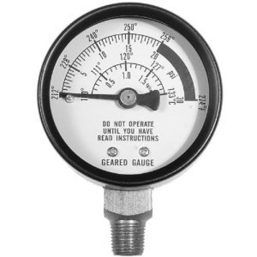 All American Pressure Canner AA-72 Pressure Gauge