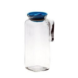 Bormioli Rocco 1 Litre Frigoverre Glass Storage Jug with Seal