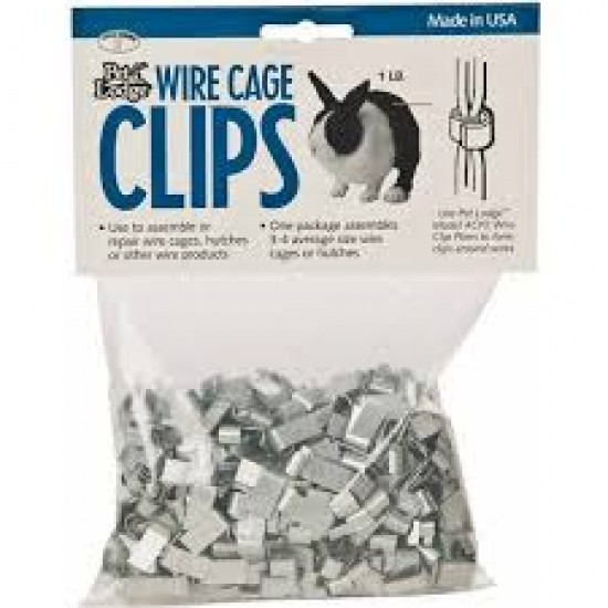 Cage Wire Fasteners 450g Bag or Jumbo 9kg box