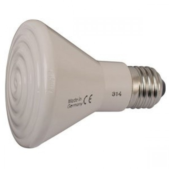 Ceramic Infrared Brooder Lamp for Poultry 60W - 250W