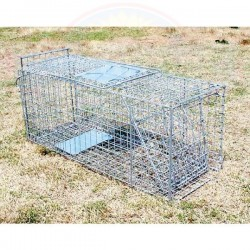 Collapsible trap 66cm - wild cats, possums, foxes