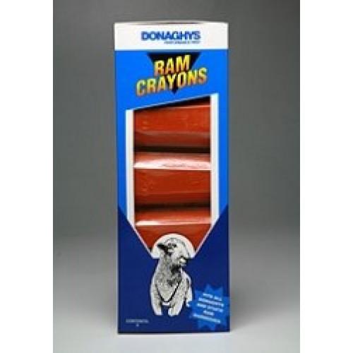 Crayons for ram / buck harness