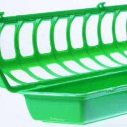 Crown Flip Top Feeder Poultry/ Small Bird / Chick
