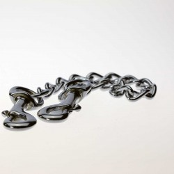 Dog Ute Chain with Clips