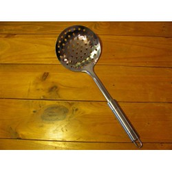 Draining Spoon for Cheesemaking