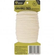Enviro Ties Natural Alternative Cotton Plant Ties 40m