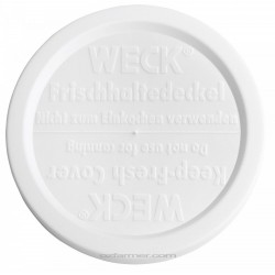 Extra Large Keep Fresh Snap On Lid for Weck Jars BPA FREE