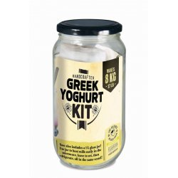 Greek Yoghurt Jar Complete Yoghurt Kit Add Milk or Soy