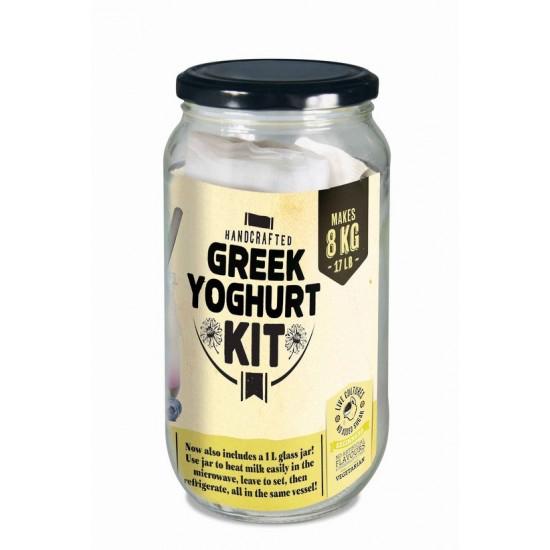 Greek Yoghurt Jar Complete Yoghurt Kit Add Milk or Soy
