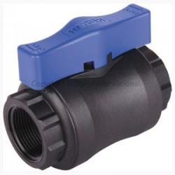 Hansen Ball Valve Blue 50mm