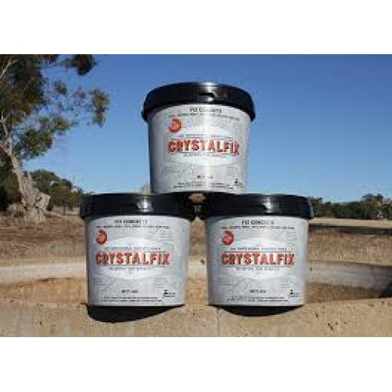 Mr Crystal Crystalfix Easy Professional Concrete Tank Pool Repair