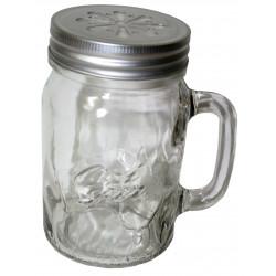 6 x Ozi Pint Handle Jars / Beer / Moonshine  / Smoothies