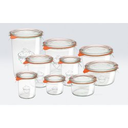 1 x 580ml Tapered Jar - 742  WECK