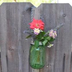 1 x US Pint 473ml Ball Mason Heritage Collection Green Jar - Single