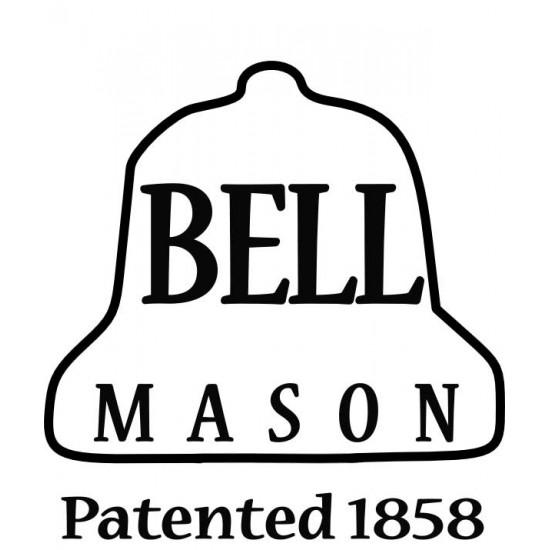 12 x Bell 32 oz Quart Smooth Hi Shoulder Jars - Lids Not Included
