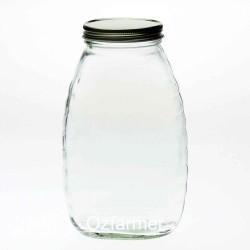 12 x Bell 22oz / 2lb Queenline Honey Jars Lids Not Included