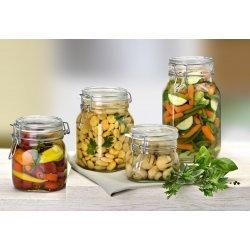 1 litre Swing Top Preserving Jar Bormioli Rocco Fido