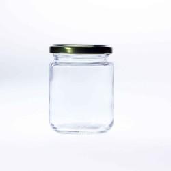 105 x Pakezy 240ml Round Preserving, Jam, Honey, Chutney Jars