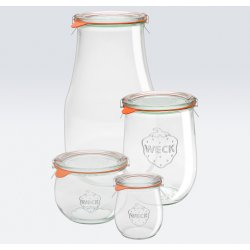 1 x 370ml Tulip Jar- 946 Weck