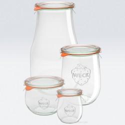 1 x 1 litre Tulip Jar Complete - 745 Weck