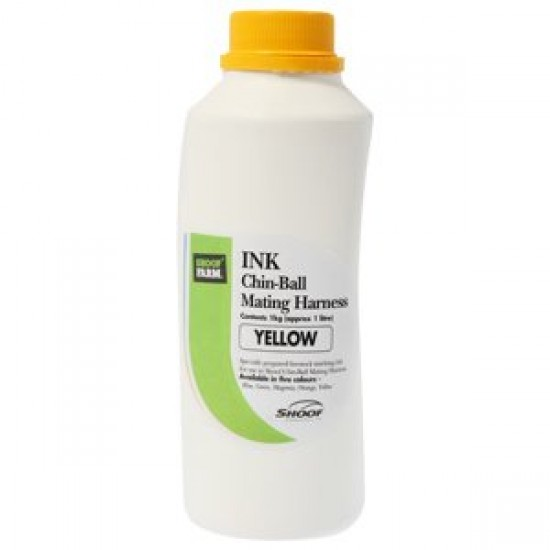 Ink for Chin-Ball Mating Harness