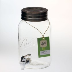 Kefir Fermenting Jar / Kombucha Dispenser With Plastic Tap and Lid