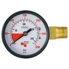 Keg Gauge High Pressure to 3000 psi