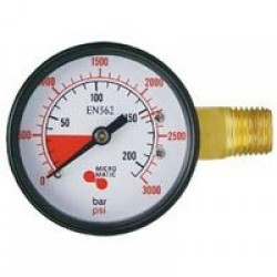 Keg Gauge High Pressure to 3000 psi Imported