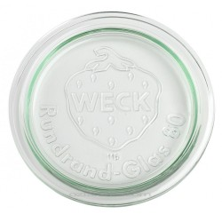 Large Glass Lid for Weck Preserving Jars