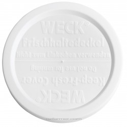 100mm Large Keep Fresh Snap On Lid for Weck and Rex Jars BPA FREE