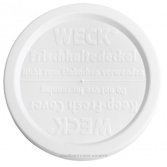 Large Keep Fresh Snap On Lid for Weck Jars BPA FREE