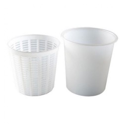 Large Ricotta Container and Basket