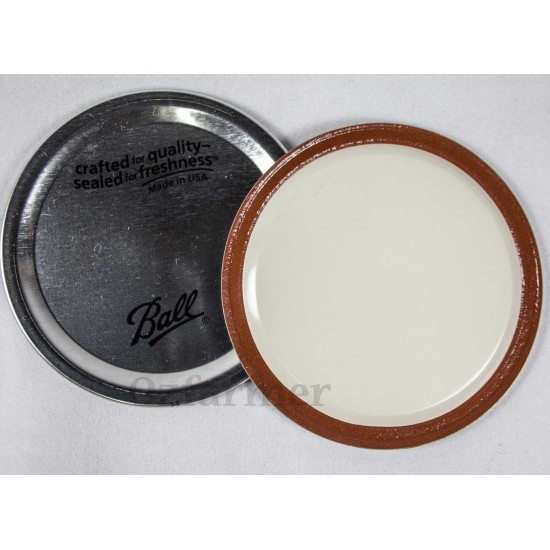 Lid (No Band) Regular Mouth – Single Lid Only