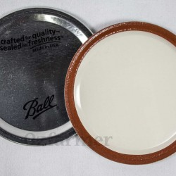 Lid (No Band) WIDE Mouth – Single Lid Only
