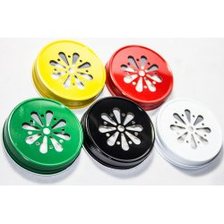 Lid Daisy Assorted Colours
