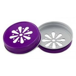 Lid Daisy Purple