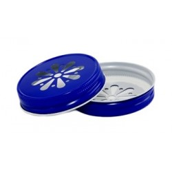 Lid Daisy Royal Blue