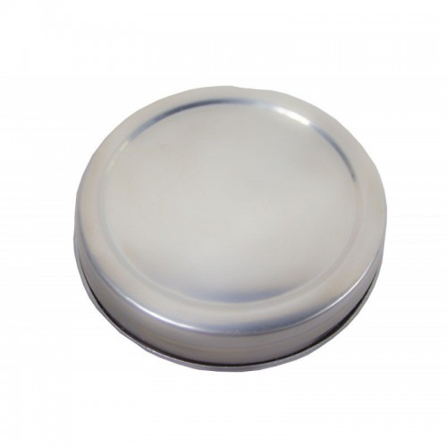 6 x Lid WIDE Mouth 86mm Stainless Steel Storage Lids Ball Mason
