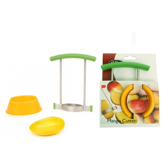 Mango slicer and holder