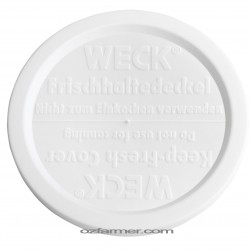 80mm Medium Keep Fresh Snap On Lid for Weck and Rex Jars BPA FREE