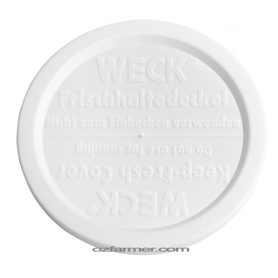 80mm Medium Keep Fresh Snap On Lid for Weck and Rex Jars BPA FREE