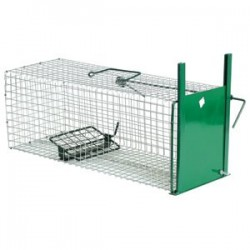 Metal trap to suit feral cats and possums