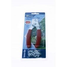 Netting C Clip Pliers 16mm with bonus clips