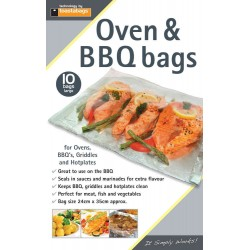 Oven and Barbeque Bags Standard Pack 10 bags