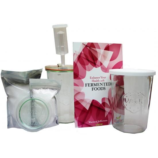 Ozi Complete Fermenting / Pickling Kit - Perfect Starter Kit